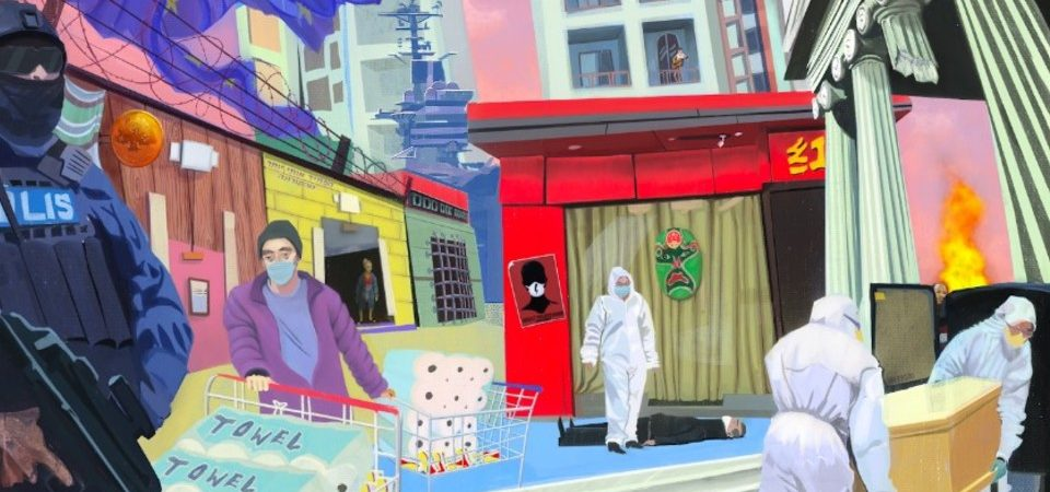 "llustration: ""Small World"" af Mia Golubovic Svensson"
