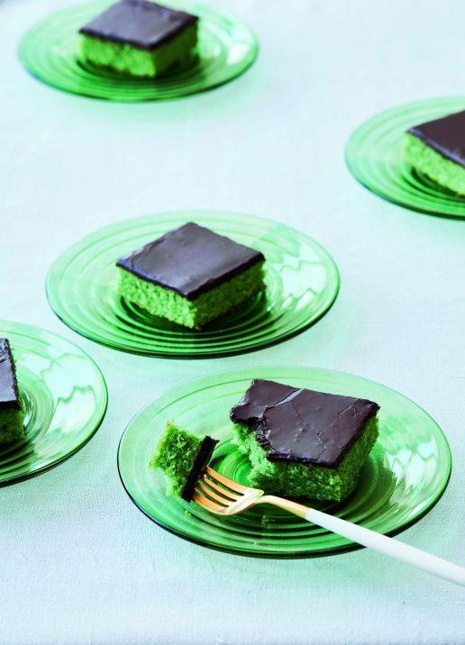 giftkage grøn kage skærekage annemette voss (Foto: Stine Christiansen)