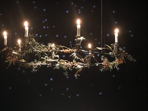 lys, lysekrone, juleborde, royal copenhagen (Foto: MY DAILY SPACE)