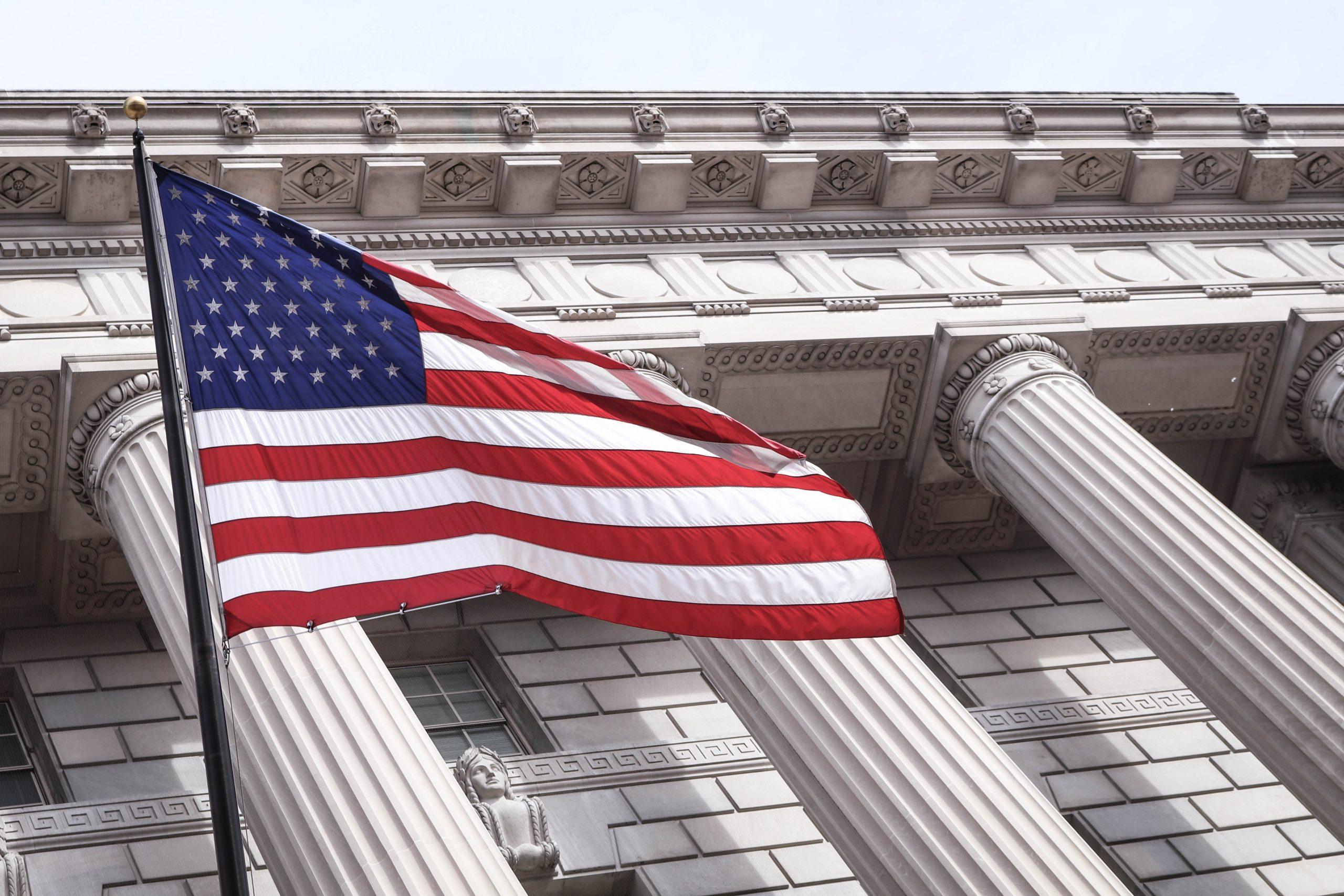 amerikansk valg, flag (Foto: Unsplash)