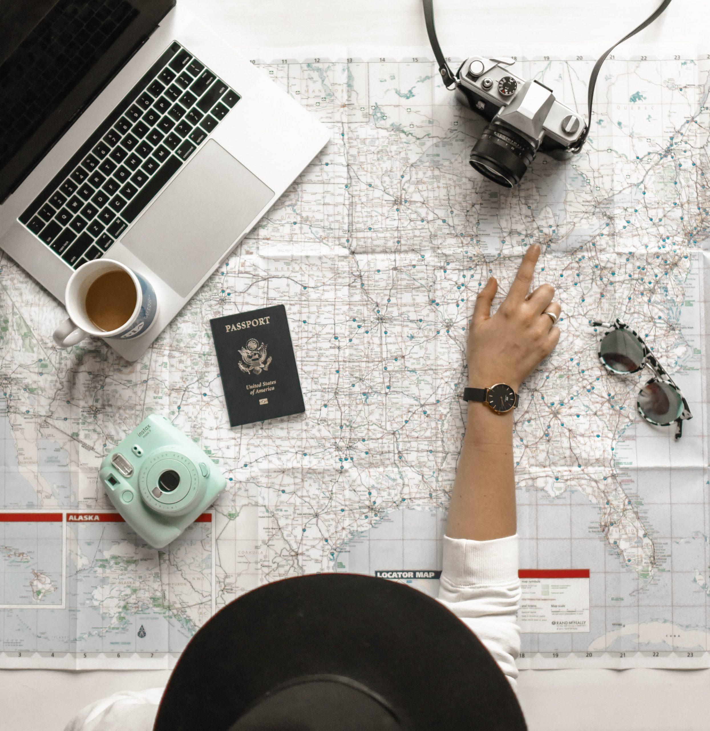 rejse, planlægge (Foto: Unsplash)