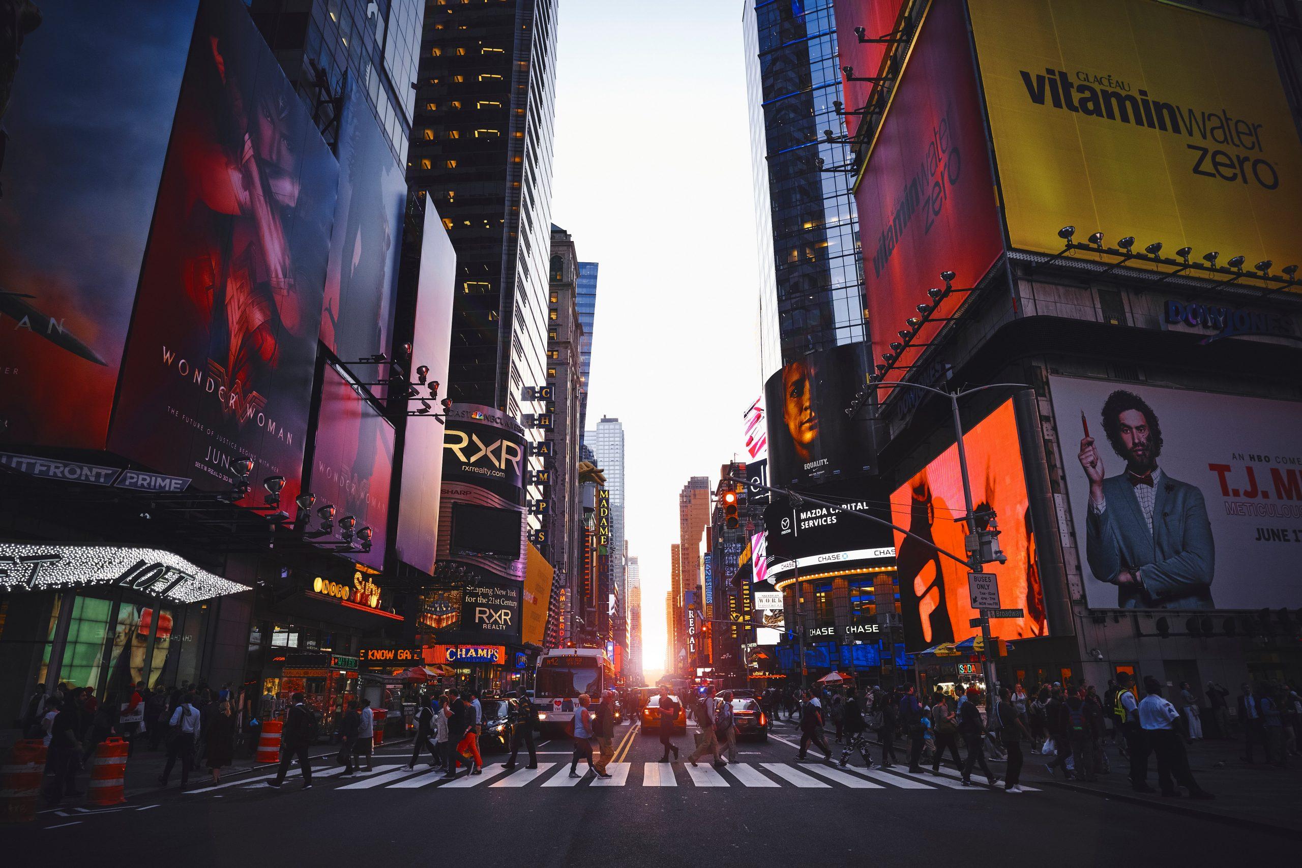 times square (Foto: Unsplash)