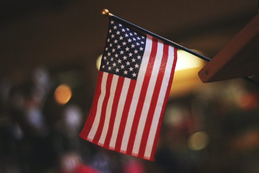 usa, flag, valg (Foto: Unsplash)