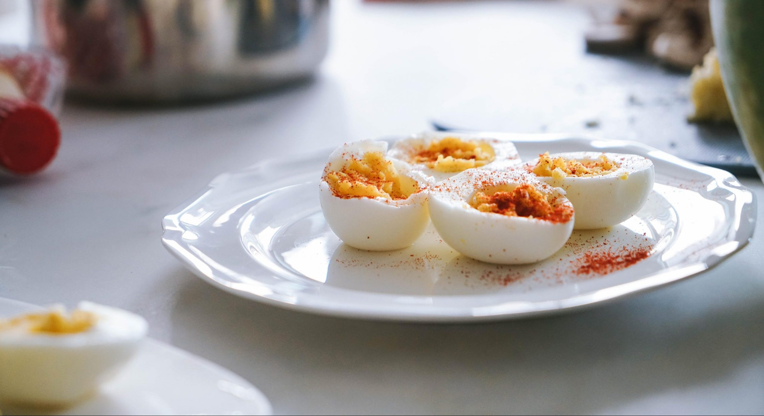 æg, kogte æg Foto: Unsplash)