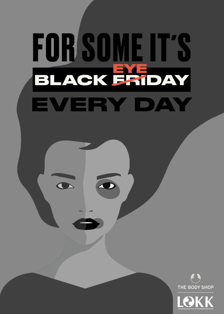 black eyeday body shop kampagne (Foto: PR Body Shop)