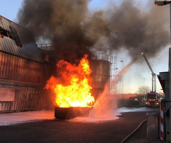 brosprøjte, ild, Foto: Sund og Bælt)