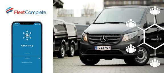 delebil, forsvaret, bil, app (Foto: PR)