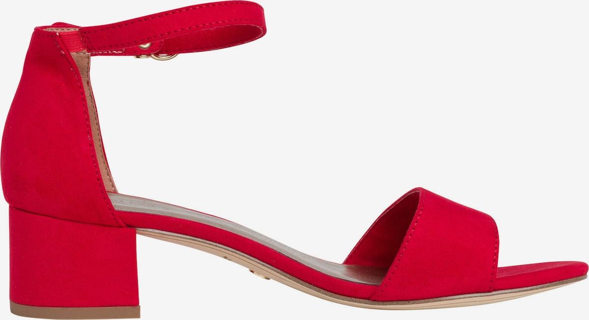 sko, røde