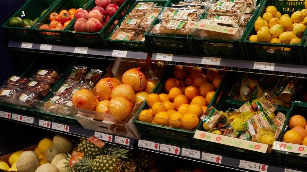 supermarked grøntsager frugt (Foto: PR)