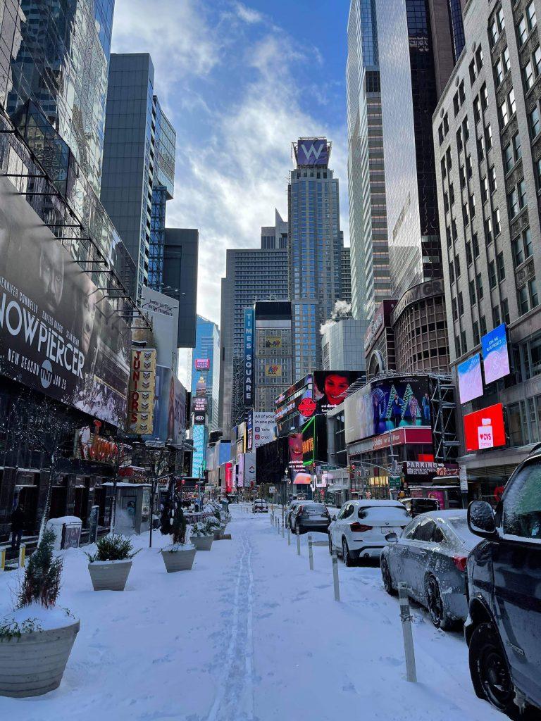 new york times square manhattan sne (Foto: Kamille Dalum)