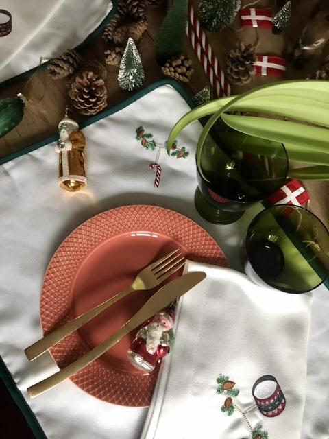 jul borddækning