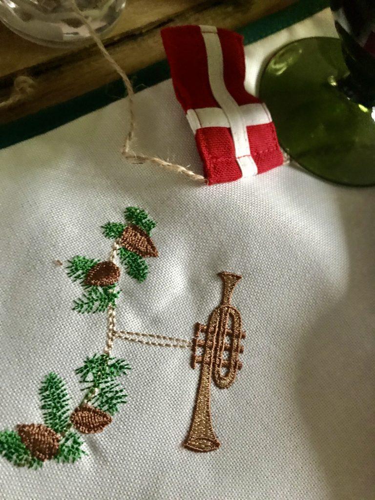 jul borddækning (Foto: MY DAILY SPACE)