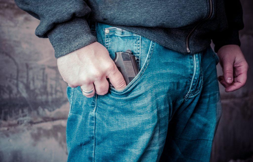 skyder kriminalitet (Foto: Unsplash)