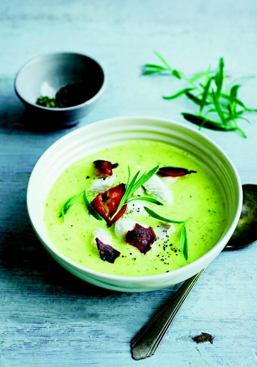 grøn keto sellerisuppe (Foto: PR)