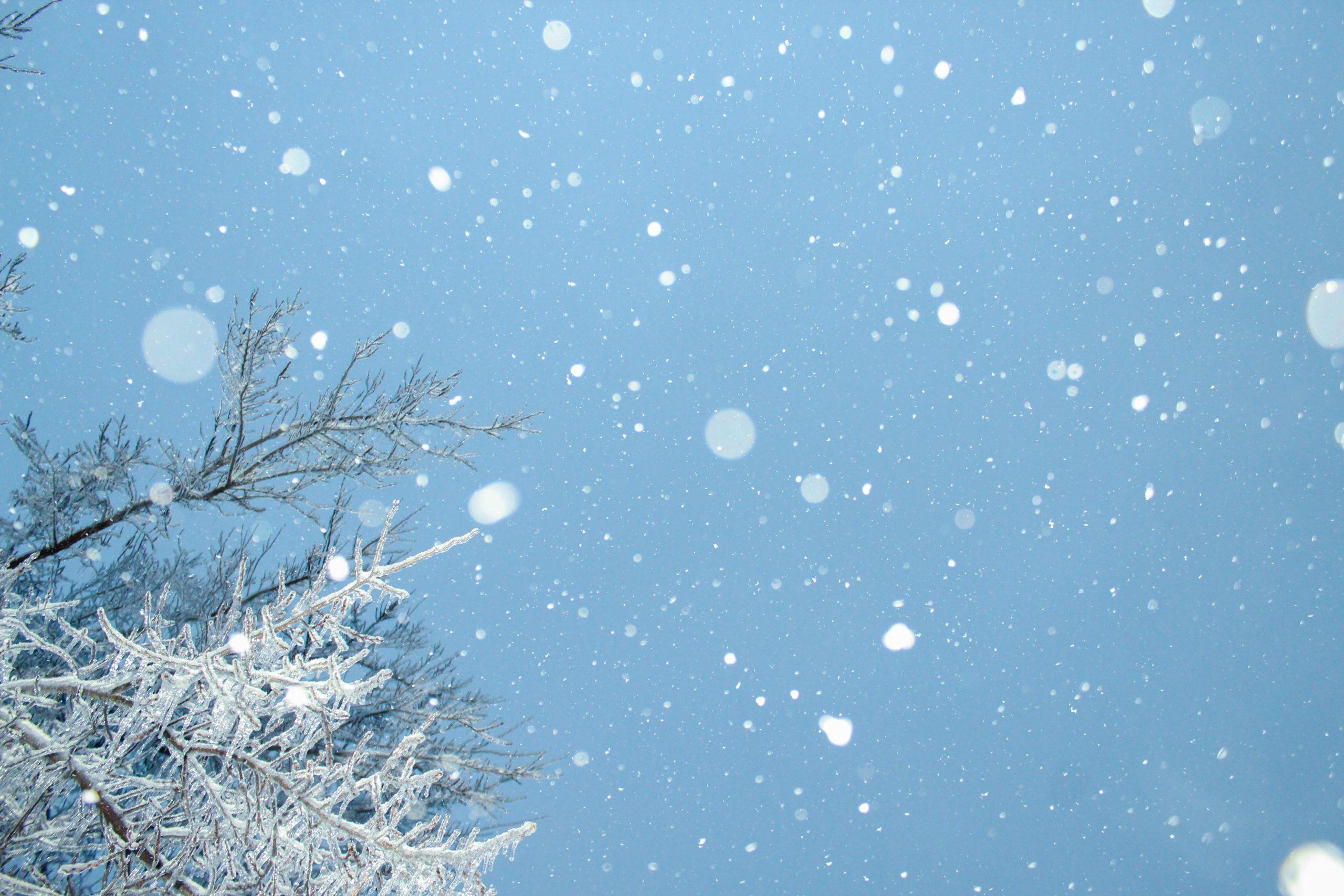 sne, vejr (Foto: Unsplash)