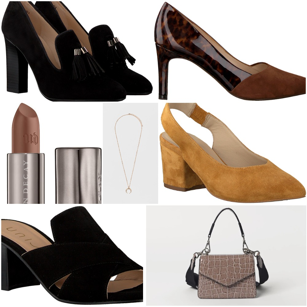 sko, højhælede sko (kollage: MY DAILY SPACE)