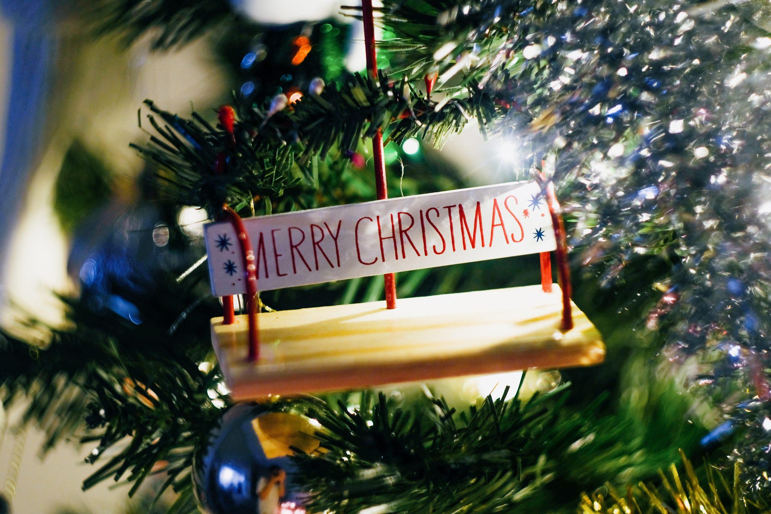 jul, træ (Foto: Unsplash)