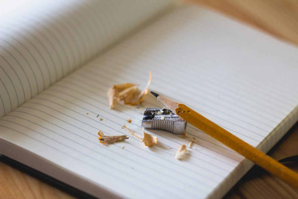 blyant kladdebog skole undervisning skrive (Foto: Unsplash)
