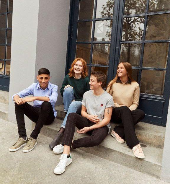 unge niels brock studerende (Foto: Niels Brock)