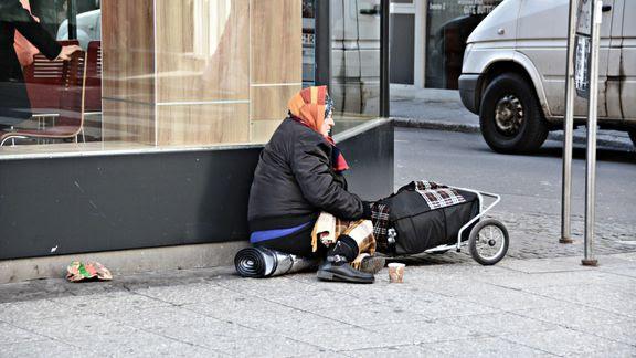 fattig hjemløs (Foto: Blå Kors)