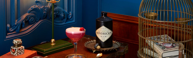hendricks gin clover drink cocktail