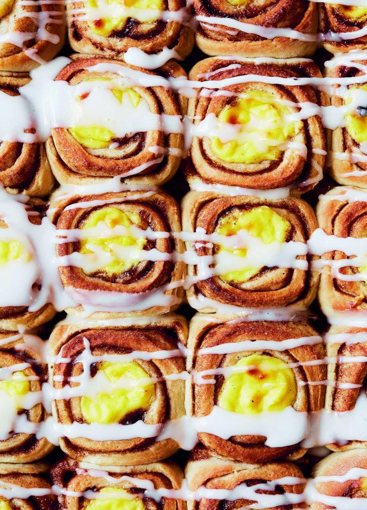 cremesnegle snegle kage