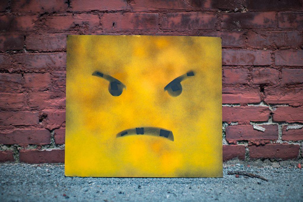 sur vrede frustreret frustration temperament smiley (Foto: Unsplash)