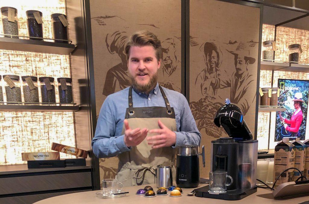 niels østergaard nespresso kaffe