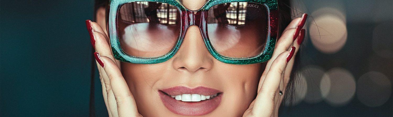 pige solbrille