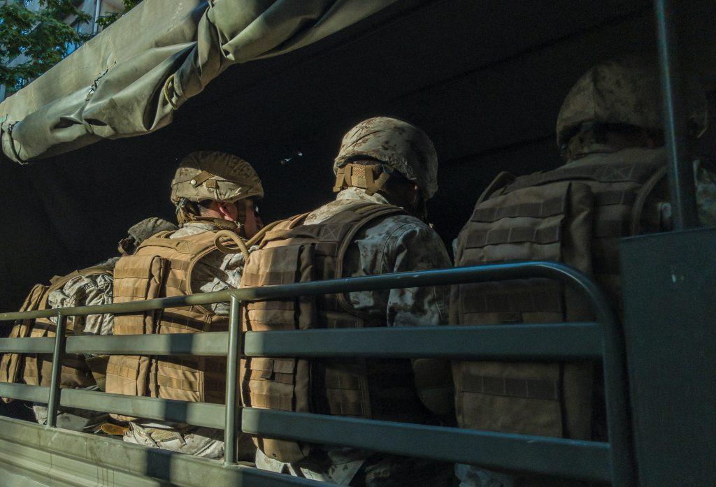 soldater krig militær