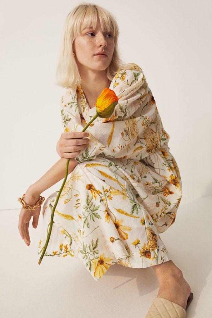 hennes og mauritz kjole
