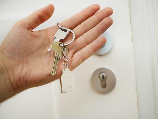 nøgle flytte dør
