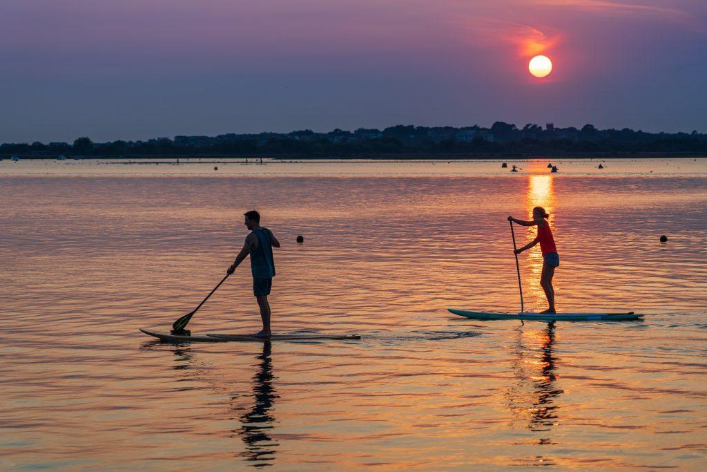 paddleboard havet fritid