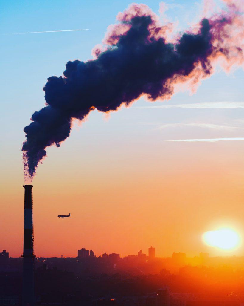 forurening fly co2