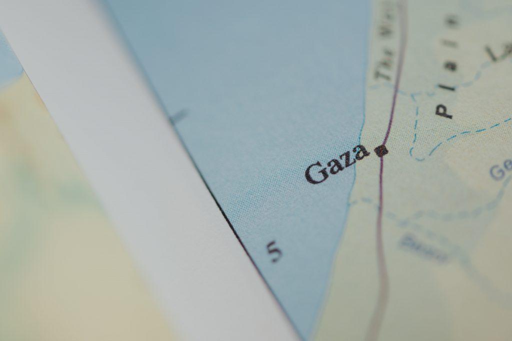 gaza vestbredden