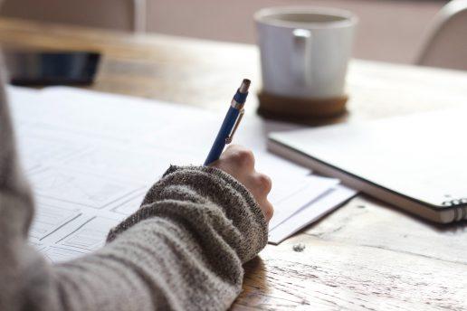 arbejde skrive kaffe