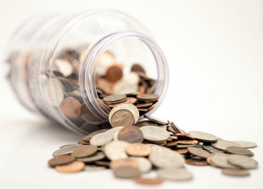 penge mønter