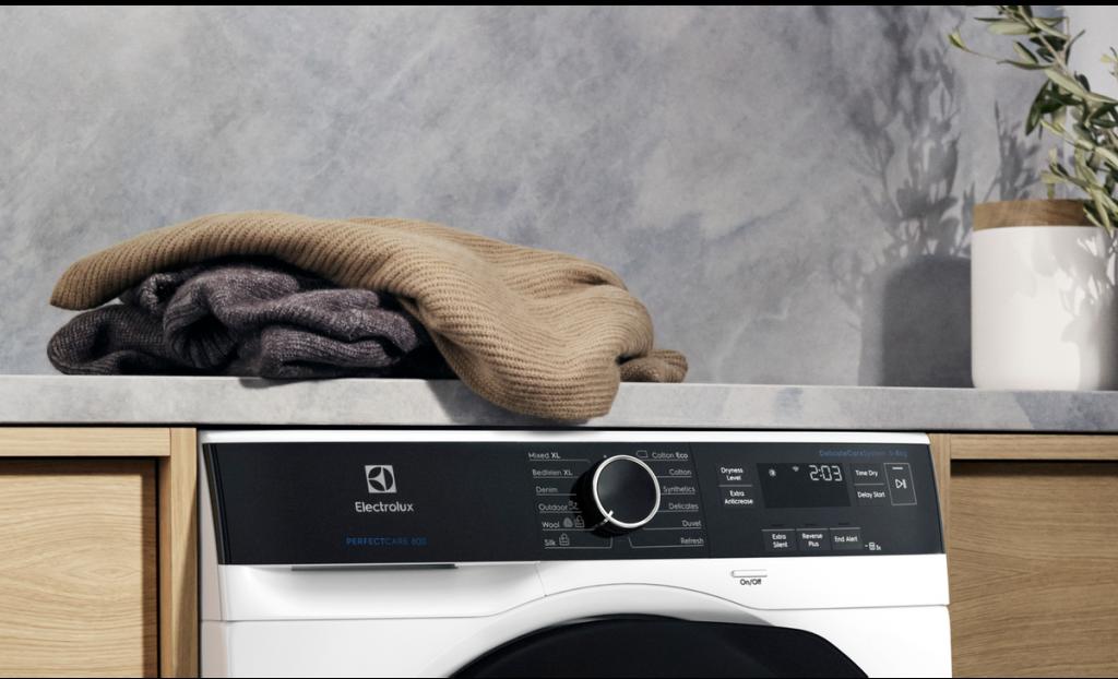 vaskemaskine tøj electrolux