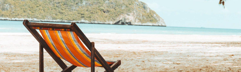 strand liggestol sommer sommerferie