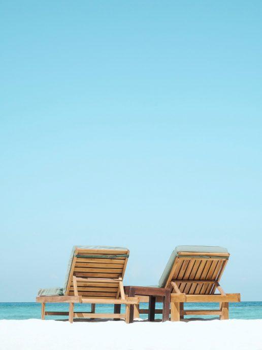 liggestole ferie havet