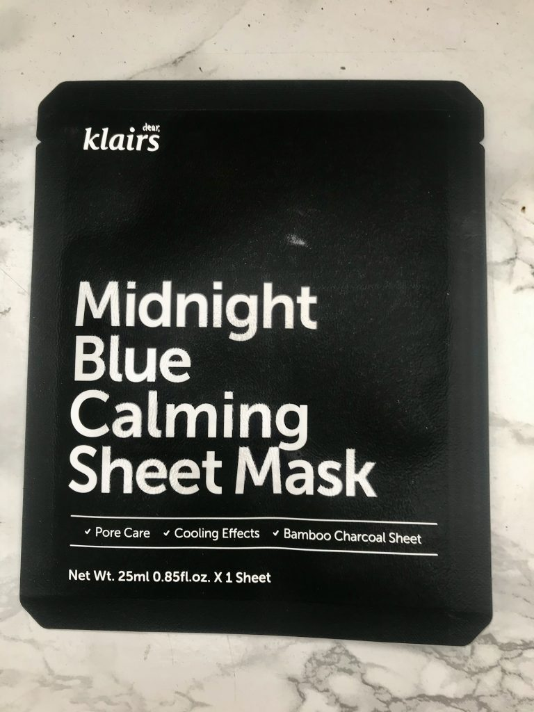 klairs sheet maske