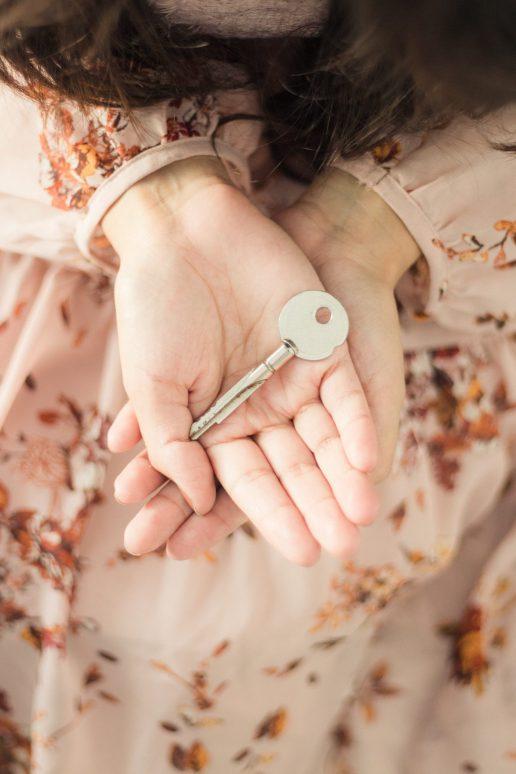 pige nøgle