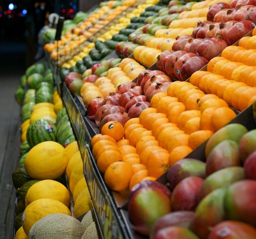 frugt supermarked