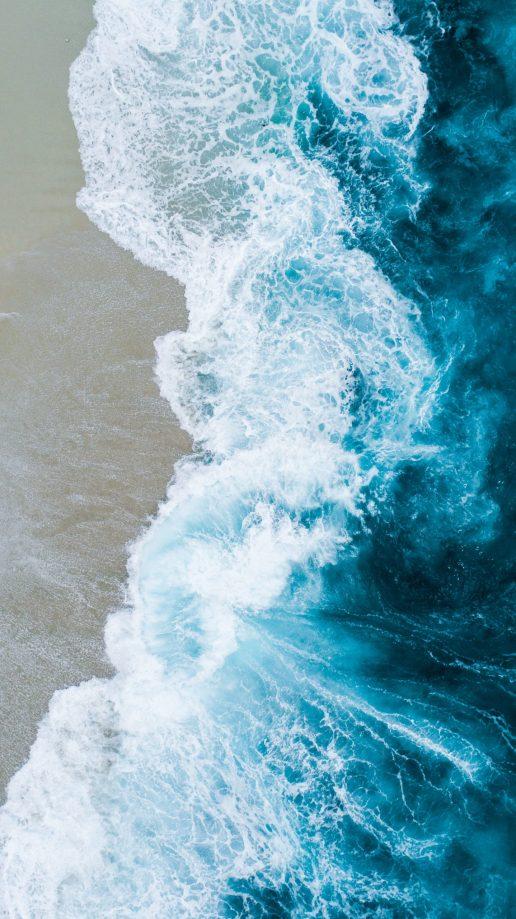 blå hav havet vand