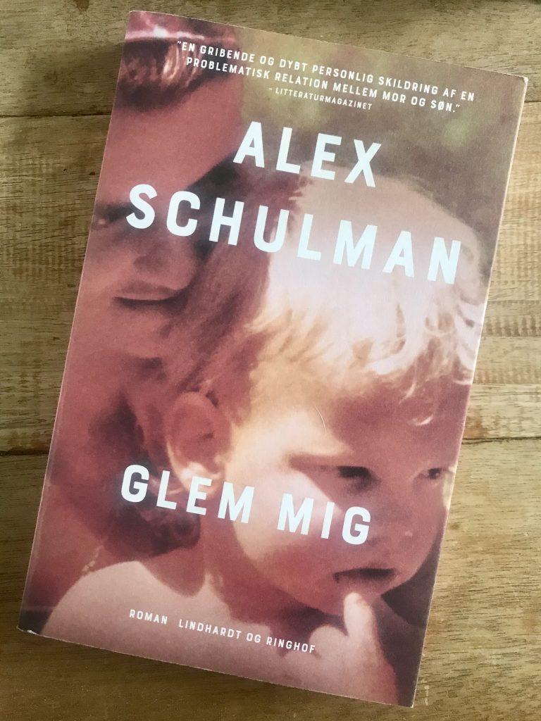 alex schulman glem mig bog