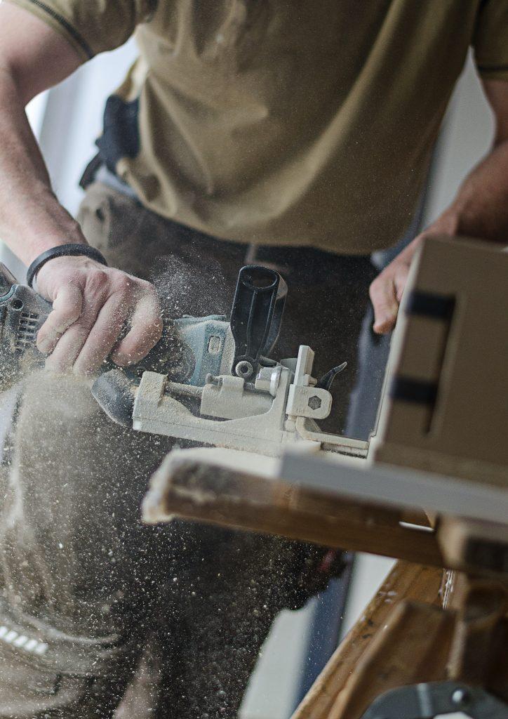 tømrer håndværker
