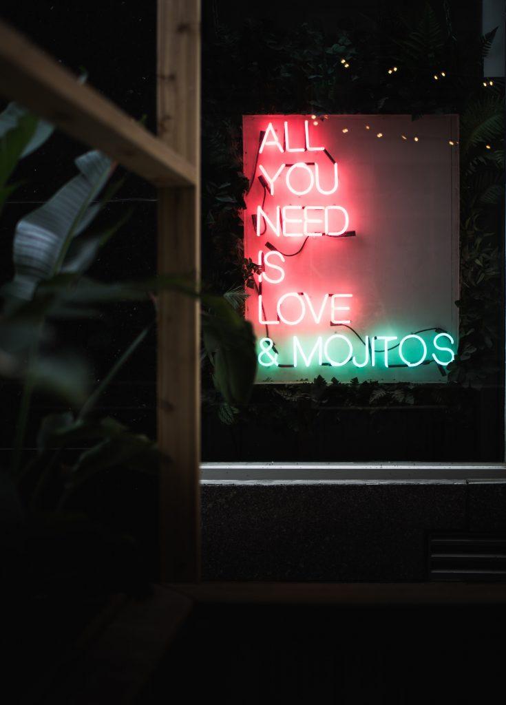 citat love mojitos