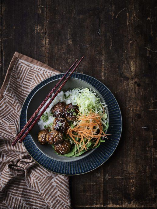 kødboller asian style
