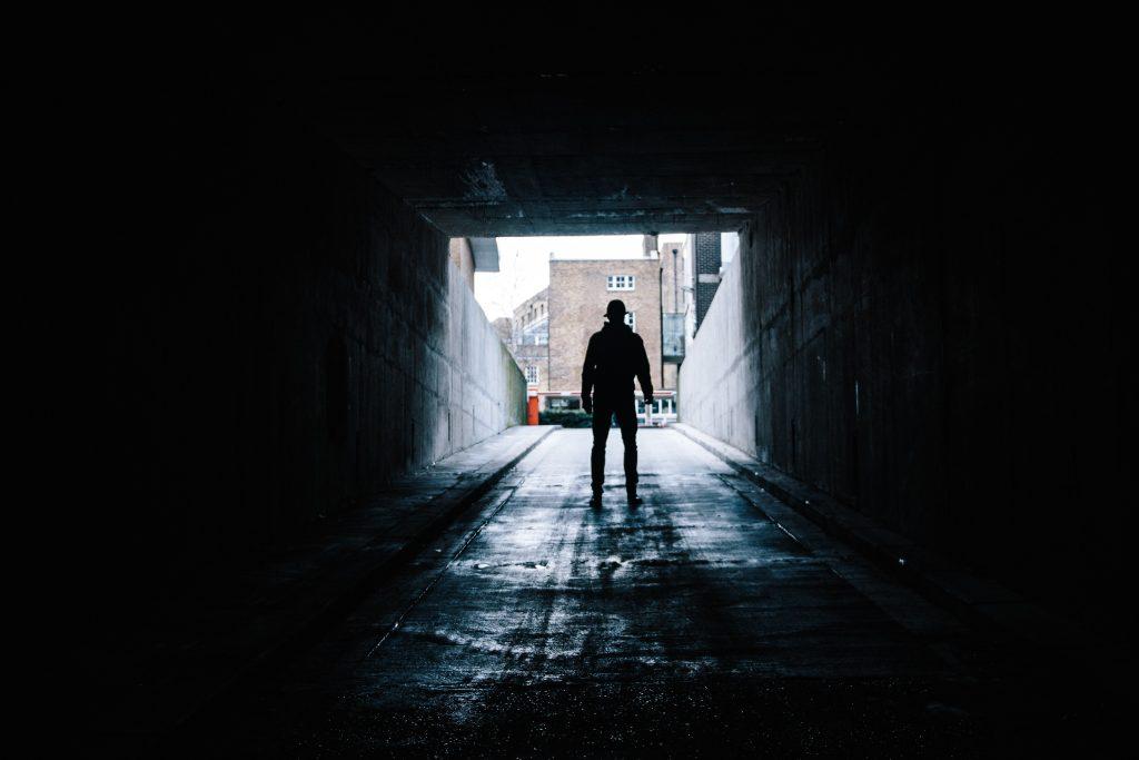 blotter blufærdighedskrænkelsemand tunnel