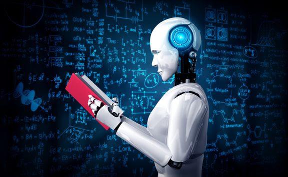 kunstig intelligens robot bog